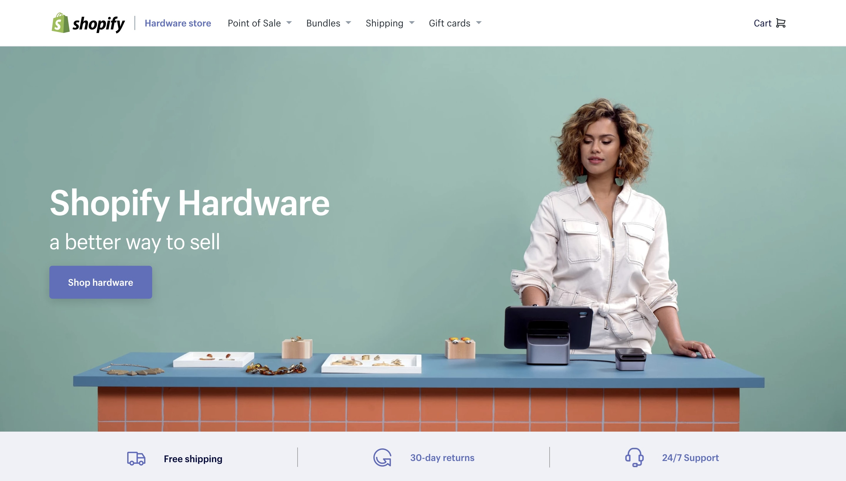 Shopify hardware store