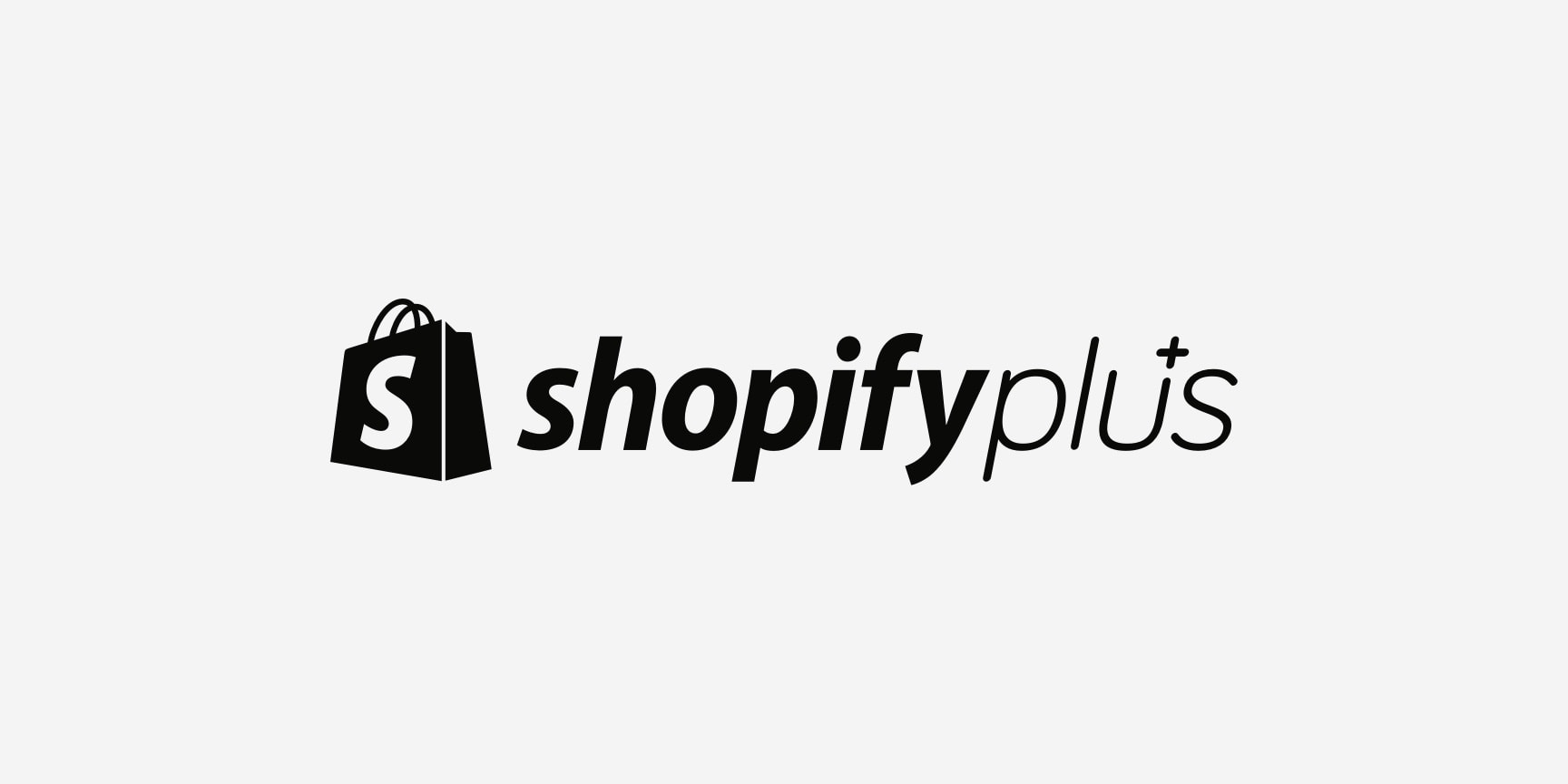 Shopify Plus logo.