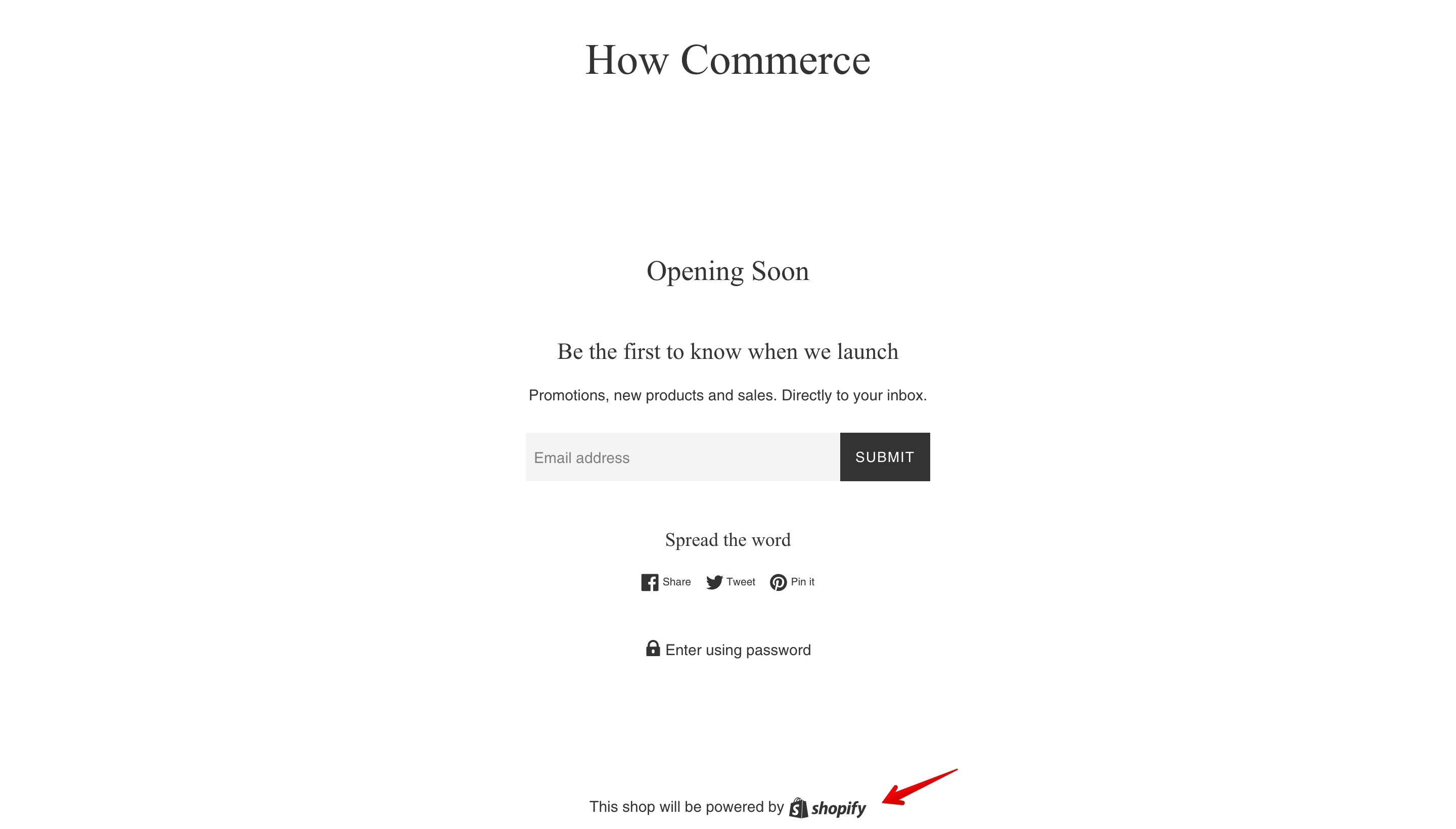Simple theme offline page copyright.