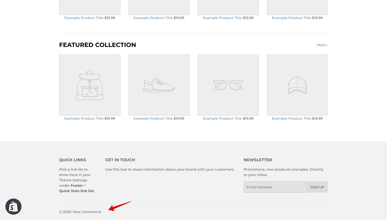 Supply theme new copyright code.