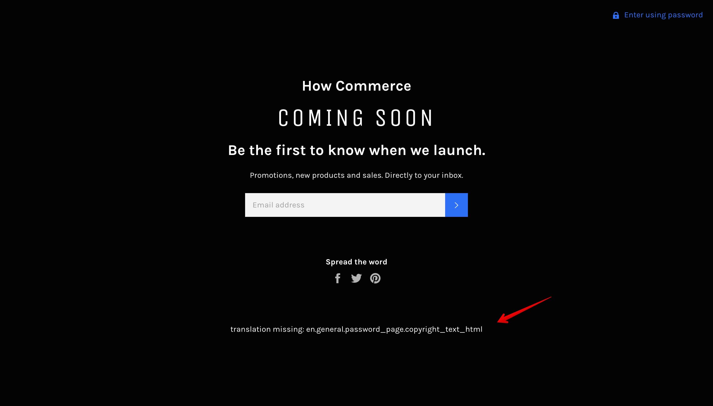 Venture theme offline page new copyright code error.