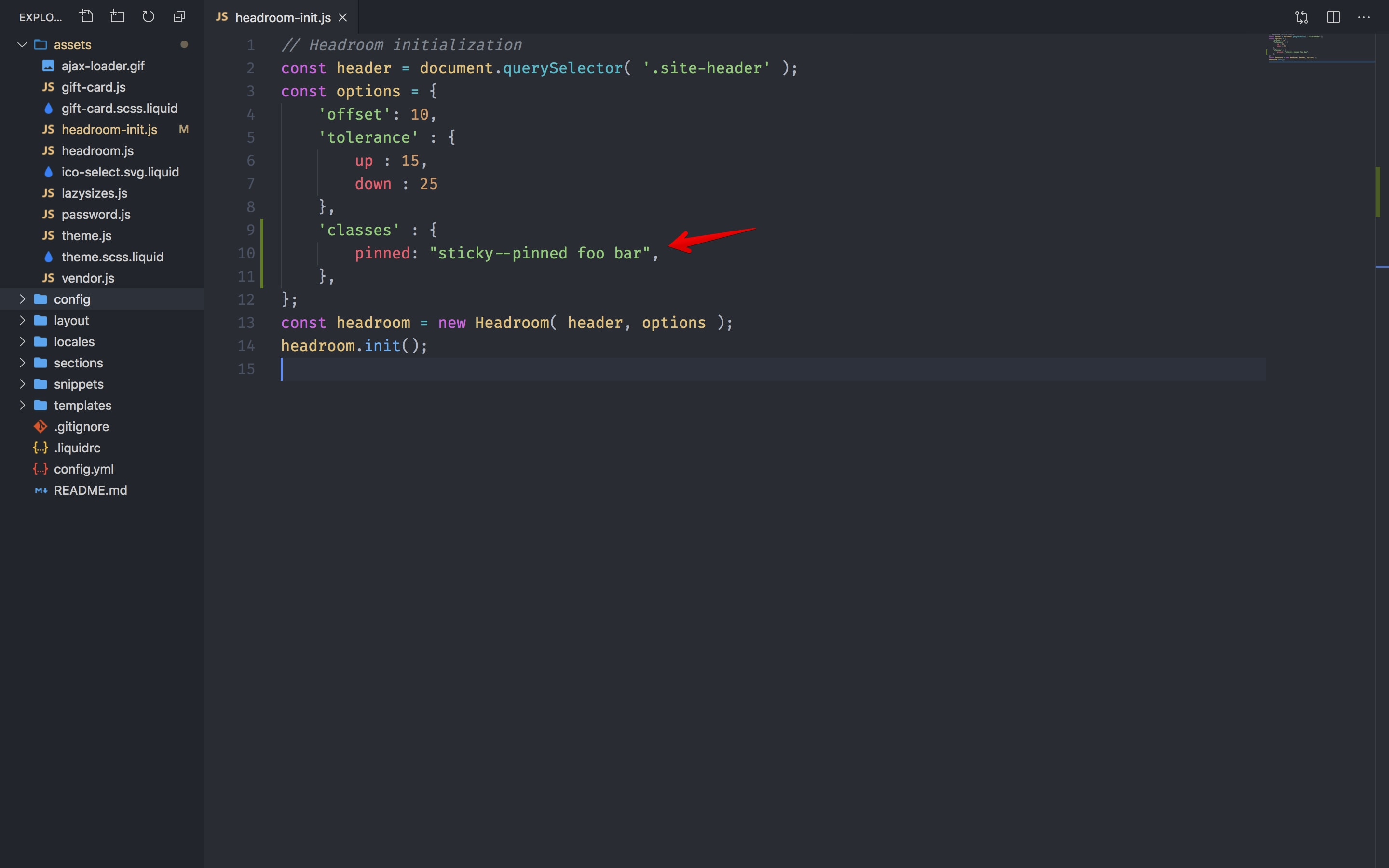 Adding multiple CSS classes to the targeted element.